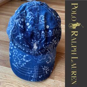 Polo by Ralph Lauren Accessories - Polo Ralph Lauren Paisley Adjustable Hat b7c32840ae8